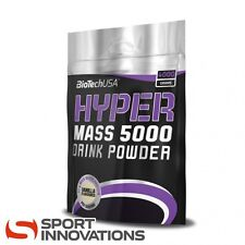 (8,63€/1kg) BioTech USA Hyper Mass 5000 Vanille Weight Gainer Eiweiß 4000g