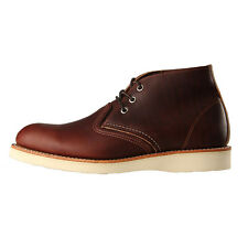 New Mens Red Wing  Classic Chukka - Briar Oil Slick Leather  100% Leather