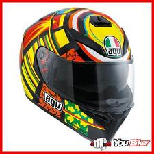 Casco Agv k-3 SV Top Elements Moto Scooter Sport Integrale Racing Replica