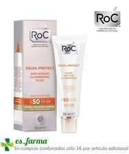 ROC SOLEIL PROTECT FLUIDO ILUMINADOR COLOREADO ANTIEDAD SPF50 50ML HIALURONICO
