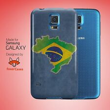 Brazil National Country Flag Case Cover for Samsung Galaxy