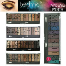 Technic Mega Nudes 2 3 Sultry Naked Nudes - 12 Shade Natural EyeShadow Palette