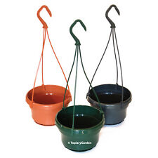 20 x Liliane 14 cm plastic Hanging plant Pots / Baskets available in 4 colours