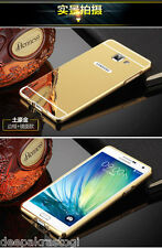 Luxury Aluminium Bumper With Mirror Acrylic Back Cover Samsung Galaxy A5 2016