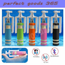 Selfie Stick Telescopic Monopod Cable Wired  Extendable For Iphone 4/5/6 Samsung