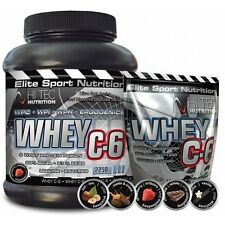 Top Whey Isolate&Concentrate Protein with BCAA,HiTec Whey C-6  2,27kg Hi tec c 6