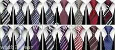 NEW Striped Jacquard Woven Classic Business Casual Silk Tie Necktie for Men