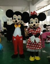 MICKEY MOUSE MINNIE MOUSE Mascotte Cosplay Costume Costume Adulti EMS