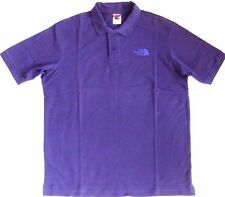 THE NORTH FACE Uomini Polo M Polo Piquet profondo viola M 39/40 o L 41/42