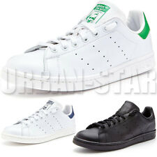 Adidas Originals STAN SMITH Trainers Black White Green Navy Sizes UK7 - 13 Shoes