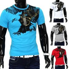 Camiseta verano fina de hombre Polo ajustable Clubwear Flying Eagle Aguila