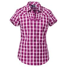 Jack Wolfskin Thiva Shirt Women Damenbluse Sommerbluse Bluse pink UVP49,95€