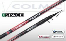 Colmic Canna in Carbonio Combat Trout Trota Torrente Teleregolabile FRM