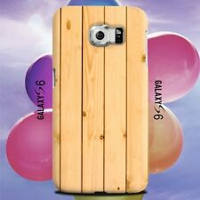 Natural Wooden Timber Pattern Texture Design for Samsung Galaxy Cover Case