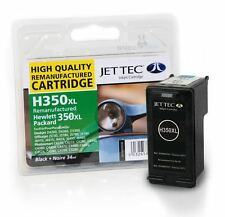 H350 HP350XL Black High Capacity Remanufactured Printer Ink Cartridge