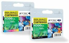 H300 / HP300XL Black & Colour High Capacity Remanufactured Ink Cartridges