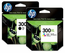 HP300XL Black + Colour High Capacity Original HP Ink Cartridges