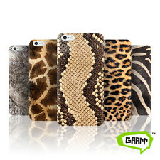 Animal Print Snap on Hard Back Phone Case Skin / Fur Apple iPhone 6 6s Cover