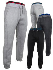 Mens Location Cuffed Track Pants Tracksuit Bottoms Trackies Sports School Gym