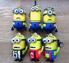 Minions Characters 8/16/32/64GB USB 2.0 Flash Drive Memory Stick Data Storage