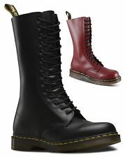 Dr Martens Unisex 1914 Smooth Leather Mid Calf 14 Eye Doc Boots