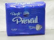 Prevail Perfit PF-013 Adult Large Briefs Diaper Package of 18 or a Case of 72