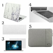 """5in1 Rubberized hard Case for Macbook PRO 13"""" + Keyboard Cover + LCD Screen+Bag"""