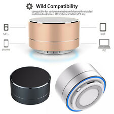 Aluminium Wireless Bluetooth Speaker Handsfree for Mobile Phones TF Card FM Mic