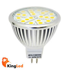 KingLed® Faretto LED Mr16  3W 21SMD5050 12V 350Lm Lampada Lampadina Luce Diffusa