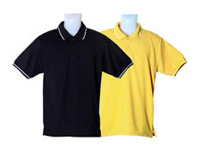 Tipped Collar Polo T-Shirt Combo (Pack of 2)