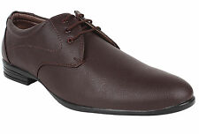 Hirolas Derby Formal Shoes - Brown