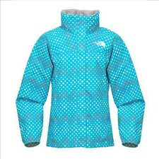 The North Face Girls Dottie Resolve Jacke Mädchen Wetter Regenjacke türkis M-XL