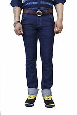 Super-X Blue Strechable Skinny Fit Jeans For Men