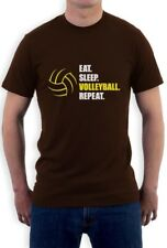 Eat Sleep Volleyball Repeat Gift Idea for Volleyball Lovers T-Shirt Novelty