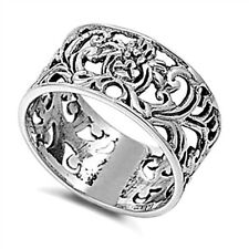 Elegant Caltic Ring, 925 Sterling Silver, w FREE Gift Box, Classic Trendy Design