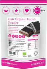 Raw Organic Cacao Powder 500g 1kg 3 Non Alkalised Criollo Cocoa Chocolate Making
