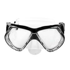 Pro Diving Mask Swimming Silicone Tempered Glass Goggles Snorkeling Scuba Device