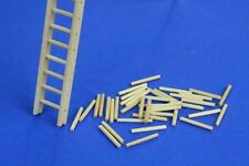 1/35 Scale Wooden Ladders set (2pcs) - diorama accessory kit