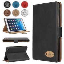 Leather Wallet Slim Flip Protective Case Cover for Apple iPad 12.9 Pro 10.5 Air