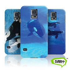 Killer Whale Case For Samsung Galaxy S5 Orca Animal Hard Shell Protective Cover
