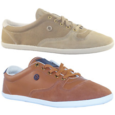 NUOVO Reebok Plimton Classic Leather Low Sneakers Trainers Unisex beige V55461