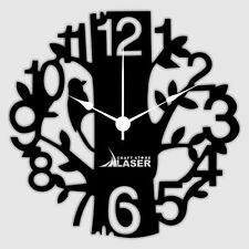 Contemprory Tree Designer Wall Clock-LCS-A1001