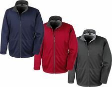 Waterproof Windproof Breathable Mens SOFT SHELL Jacket Outdoor Active Work Wear