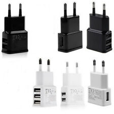 1A/2A AC USB Power Wall Charger Adapter Travel EU Plug For Samsung iPhone up