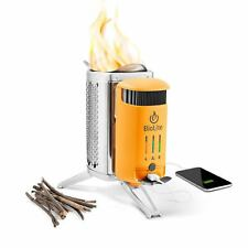 Biolite Camping Stoves - Camp Cook Stove Grill Kettle Pot Charge Nano Grid Light
