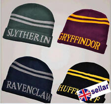 Harry Potter Gryffindor Slytherin Hufflepuff Ravenclaw Hat Hats Gift UK Stock