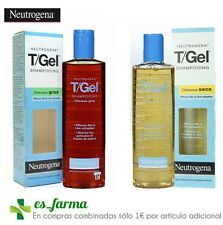 NEUTROGENA T-GEL SHAMPOO ANTI FORFORA PEELING 250ML CAPELLI GRASSI O SECCO
