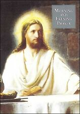 MORNING AND EVENING PRAYERS - PAPERBACK - STATUES CANDLES PICTURES ALSO LISTED