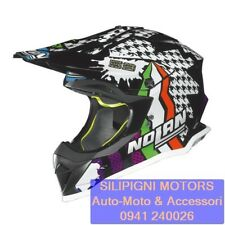 NOLAN N53 PRACTICE REPLICA N.CANEPA 14 Metal Black Casco Integrale Cross OffRoad