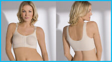 Post Surgery Bra - Front Fastening Soft Cup Bra - Breast Surgery Compression Bra
